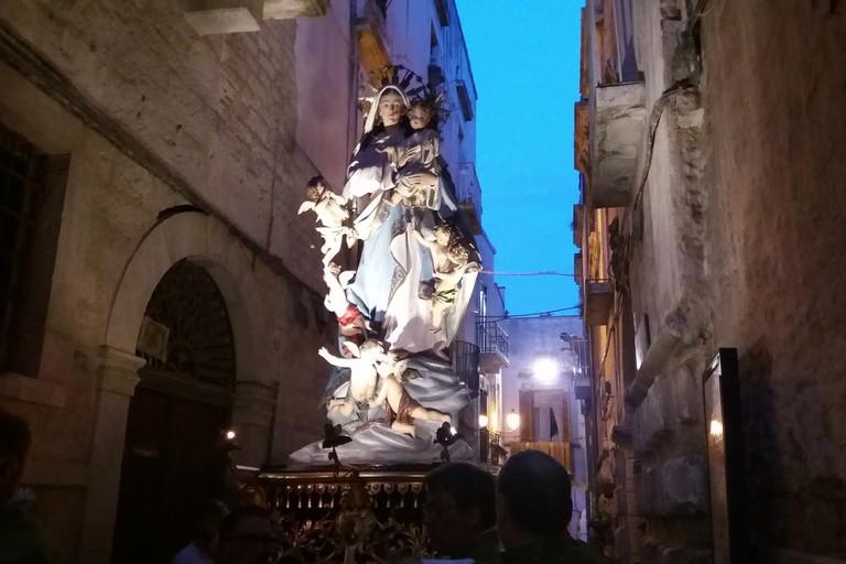 La Madonna degli Angeli su via Gelso. <span>Foto Gianluca Battista</span>