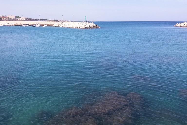 Il mare di Giovinazzo. <span>Foto Gianluca Battista</span>