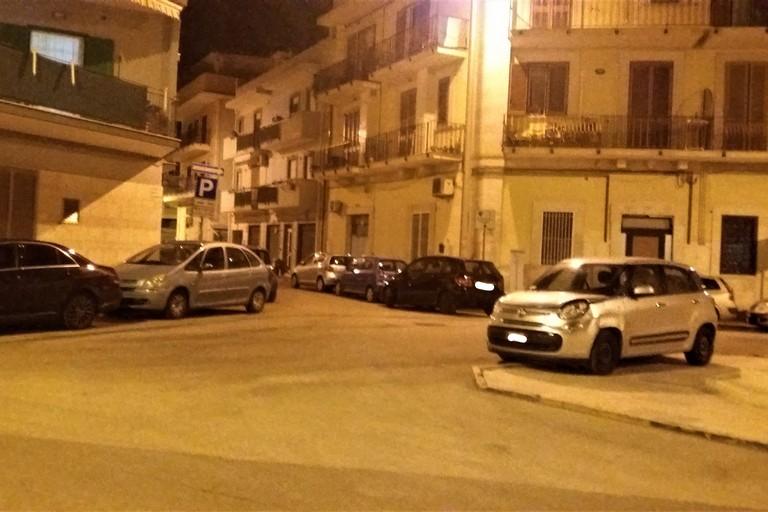 Parcheggi selvaggi alle Quattro Fontane