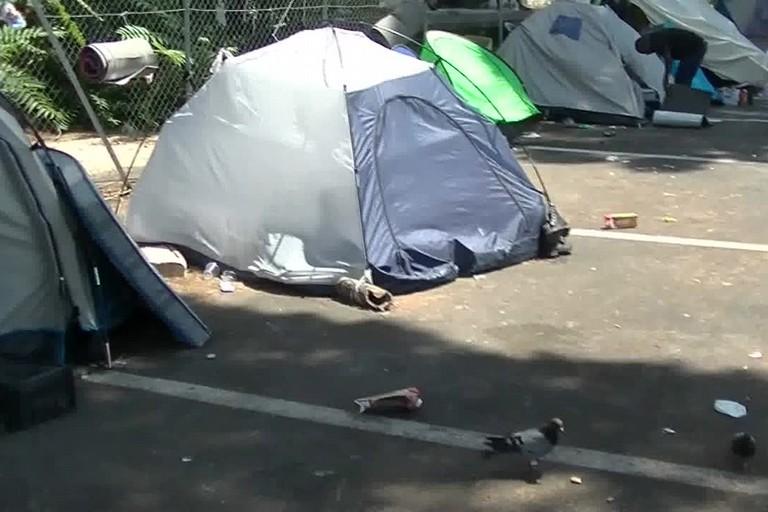 Una tenda