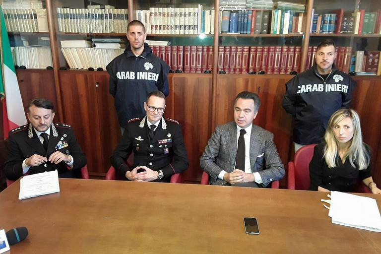 La conferenza stampa presso la Procura di Trani