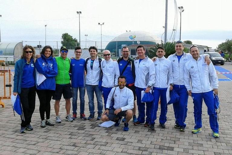 Gli atleti della Netium Giovinazzo