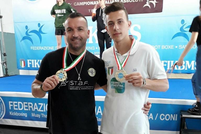 Giuseppe Scattarella e Antonello Dell'Olio