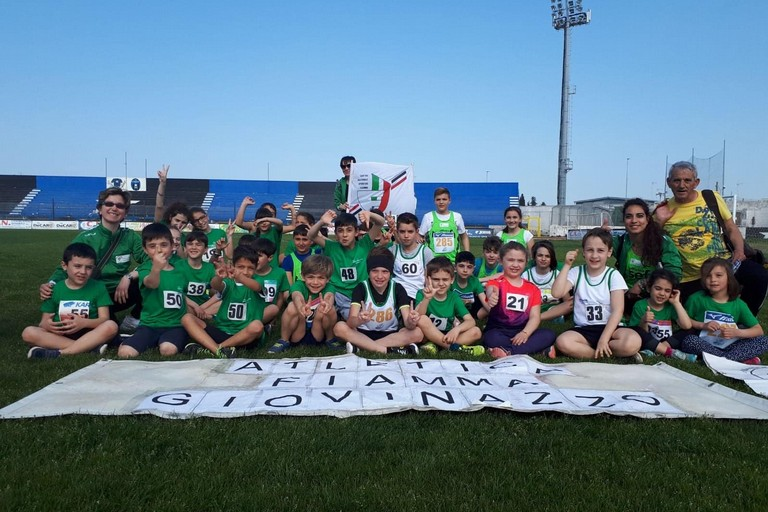 L'Atletica Fiamma Giovinazzo