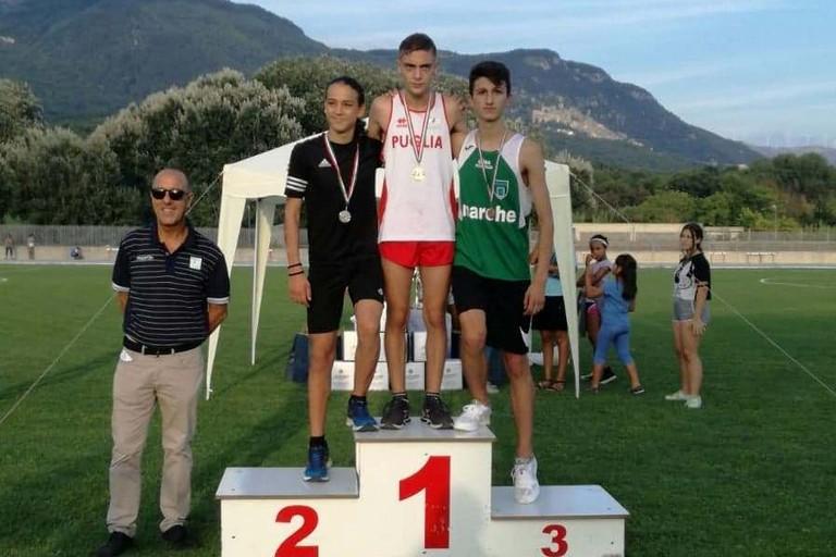 Antonio Bonvino primo nei 2.000 metri
