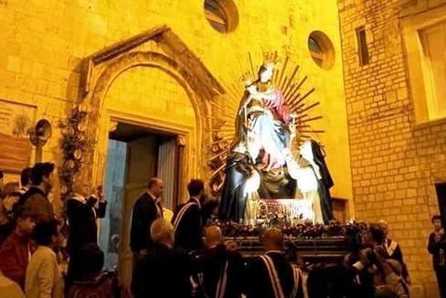 Il rientro della Madonna del Rosario