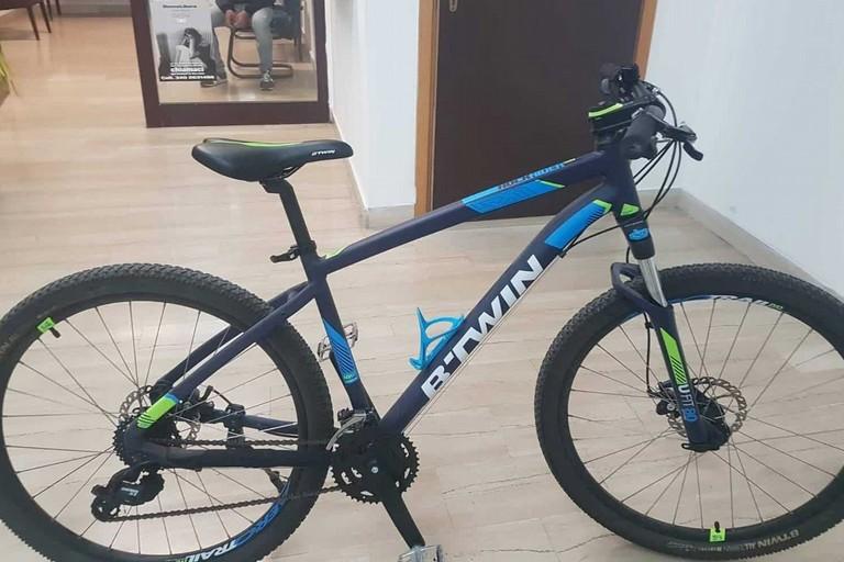 La bicicletta ritrovata dai Carabinieri