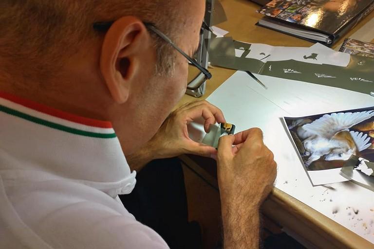 Durante i laboratori. <span>Foto Mario Romani</span>
