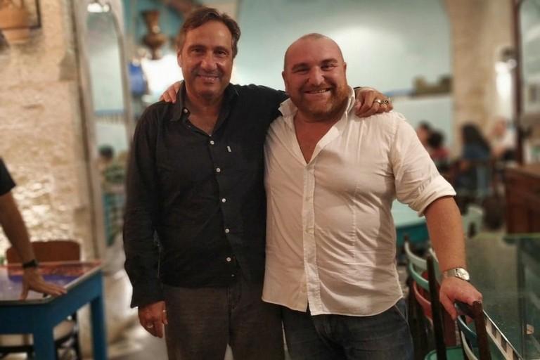 Il geologo Mario Tozzi all'Osteria Scvnazz