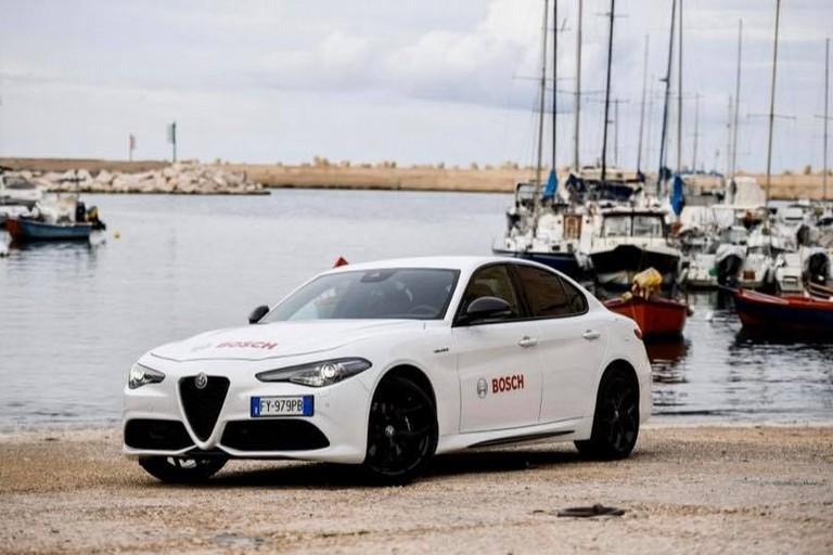 Alfa Romeo in Cala Porto