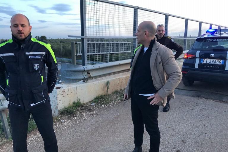 L'Assessore Stallone con Polizia Locale e Guardie Campestri
