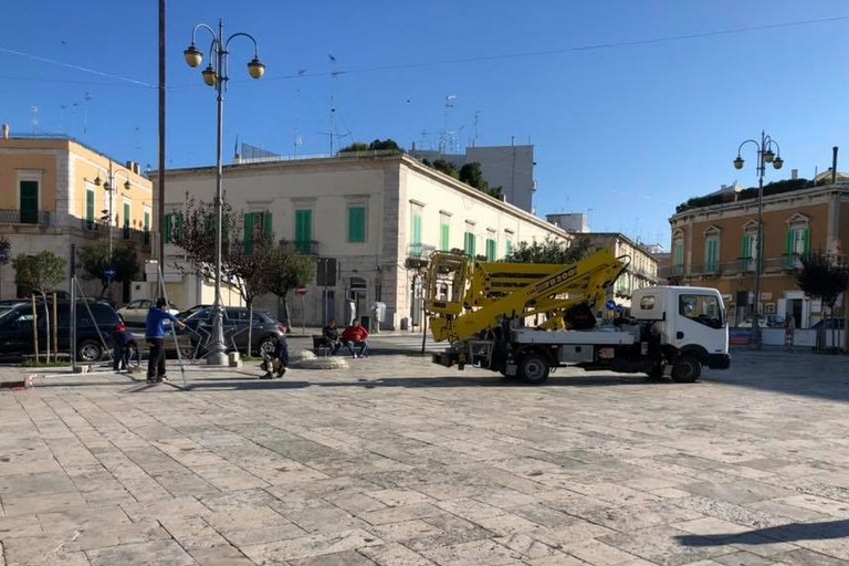 Camion sulle chianche