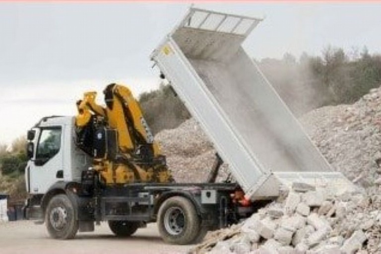 Discarica per lavorazione pietra