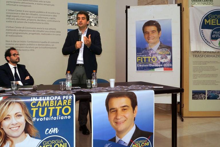 Marcello Gemmato e Raffaele Fitto