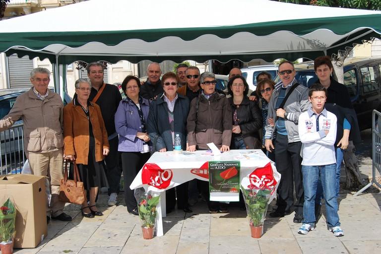 Il gruppo Aido Giovinazzo. <span>Foto Aido Giovinazzo</span>