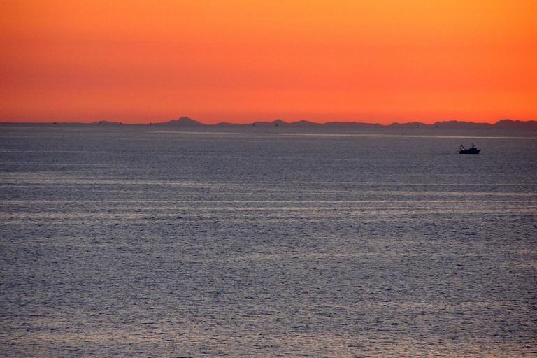L'alba in Adriatico