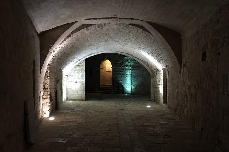 Gli archi di Palazzo Vescovile
