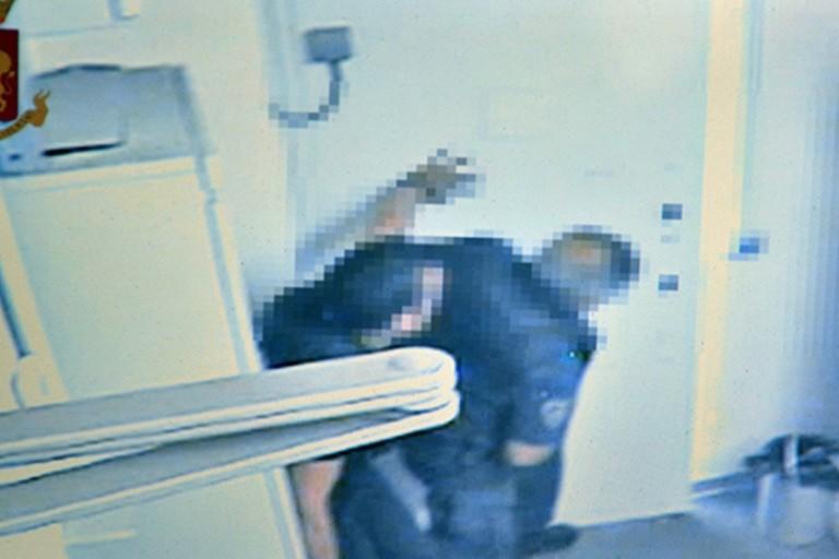 La tentata rapina avvenuta a Bari