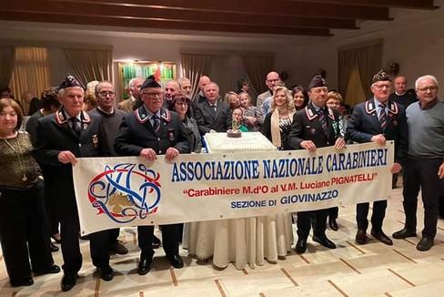 Foto di gruppo per l'ANC Giovinazzo