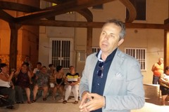 Tommaso Depalma in piazza Sicolo