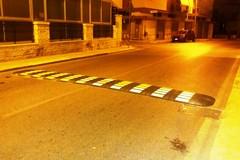 Dissuasori di velocità in diverse zone di Giovinazzo