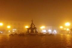 Giovinazzo nella nebbia: spettacolo raro e affascinante (FOTO)
