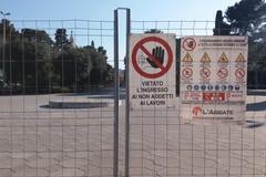 Villa Comunale cantierizzata: partono i lavori