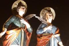 Giovinazzo si è affidata ai Santi Medici Cosma e Damiano (FOTO)