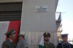 A Giovinazzo da ieri c'è via Generale Ottavio Maria Daconto (LE FOTO)
