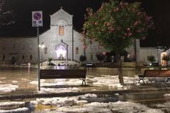Grandinata improvvisa a Giovinazzo: le FOTO