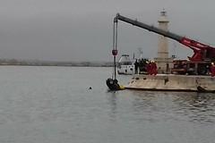 Auto nel porto di Molfetta, recuperato il corpo di un 48enne