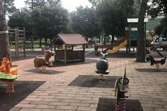 Area giochi Villa Comunale, la nuova pavimentazione decisa dai cittadini