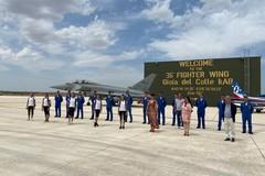 Delegazione Iris ospite della Pattuglia Acrobatica Nazionale