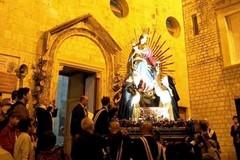Stasera la processione della Madonna del Rosario