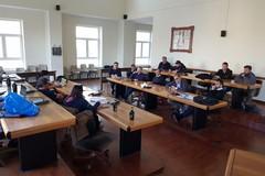 Lo staff tecnico del Giro d'Italia 2020 a Giovinazzo