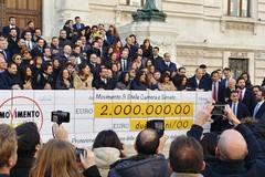 I parlamentari 5 Stelle restituiscono 2 milioni e li destinano alla Protezione Civile