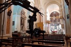La troupe di Sky Arte nella Concattedrale di Santa Maria Assunta e nel borgo antico