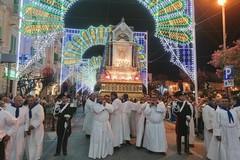 Ieri sera la processione della Madonna di Corsignano (LE FOTO)