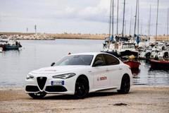 L'Alfa Romeo sceglie Giovinazzo per lanciare le nuove Giulia e Stelvio