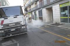 Disinfezione e sanificazione mattutina: LE FOTO
