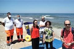 In Località Sabbione garantito l'accesso alla spiaggia per i disabili
