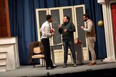 """""""Tre sull'altalena"""" stasera e domani in scena all'Odeion"""