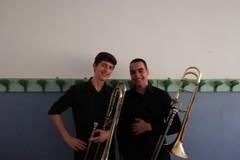 Amici per la pelle uniti dal trombone