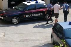 Ladro di mandorle preso dai Carabinieri
