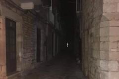Punti luce disabilitati nel borgo antico per un guasto