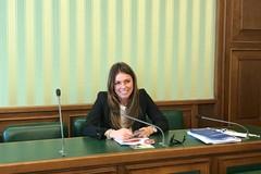 Carmela Minuto in Senato: «Premiato l'impegno di Forza Italia»