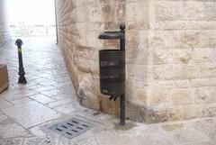 Nuovi cestini nel centro storico