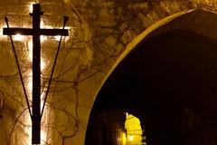 Inizia la Quaresima: a mezzanotte accesa la grande croce in via Cattedrale