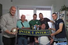 Angelo Depalma tessera n.1 dell'Inter Club Giovinazzo