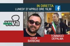 Tommaso Depalma e Luca Barbone in diretta su GiovinazzoViva questa sera